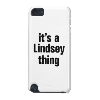 its a lindsey thing iPod touch 5G cover