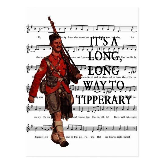 It's A Long Way To Tipperary Postcard