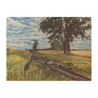 It's a lovely day... 2013 wood print