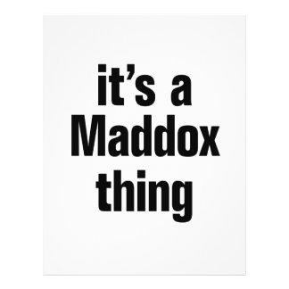 its a maddox thing 21.5 cm x 28 cm flyer