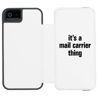 its a mail carrier thing incipio watson™ iPhone 5 wallet case