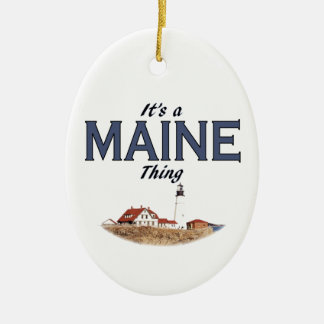 It's a Maine Thing - Lighthouse Christmas Ornament