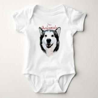 It's a Malamute Baby Bodysuit