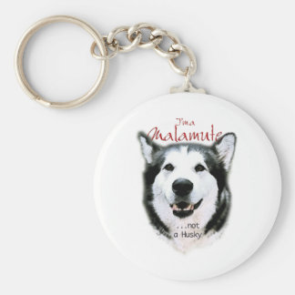 It's a Malamute Key Ring