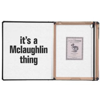 its a mclaughlin thing iPad folio case