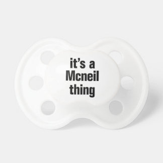 its a mcneil thing dummy