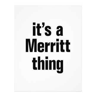 """its a merrit thing 8.5"""" x 11"""" flyer"""