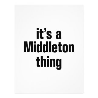 """its a middleton thing 8.5"""" x 11"""" flyer"""