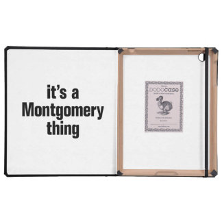 its a montgomery thing iPad covers