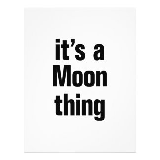 its a moon thing 21.5 cm x 28 cm flyer