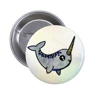 It's a Narwhal! 6 Cm Round Badge