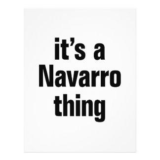 "its a navarro thing 8.5"" x 11"" flyer"