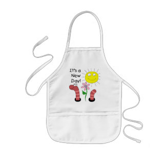 It's a New Day Tshirts and Gifts Kids Apron