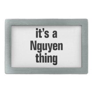 its a nguyen thing rectangular belt buckles