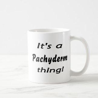 It's a Pachyderm thing! Basic White Mug