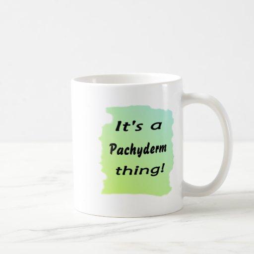 It's a Pachyderm thing! Mug