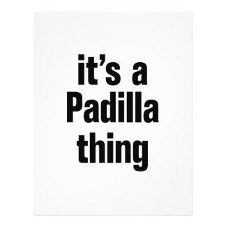"its a padilla thing 8.5"" x 11"" flyer"