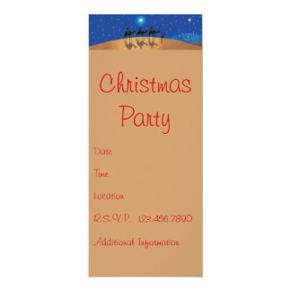 IT'S A PARTY 10 CM X 24 CM INVITATION CARD