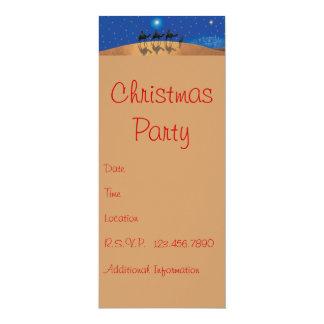 IT'S A PARTY 10 CM X 24 CM INVITATION CARD