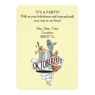 It's A Party! Oktoberfest Party Invitations