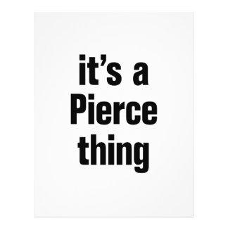 its a pierce thing 21.5 cm x 28 cm flyer
