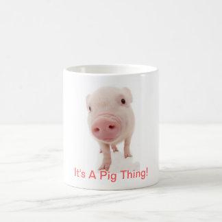 It's A Pig Thing Basic White Mug