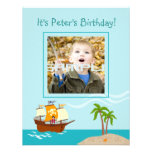 It's a Pirate party time invitation!