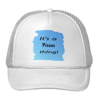 It's a Pisces thing! Trucker Hats