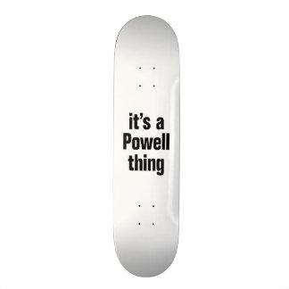 its a powell thing custom skate board
