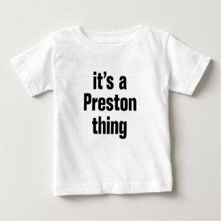 its a preston thing tshirt