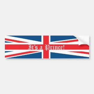 It's a Prince! Bumper Sticker