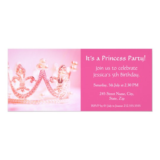It's a Princess Party! Birthday Invitation