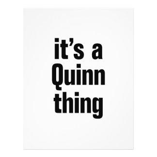 its a quinn thing 21.5 cm x 28 cm flyer
