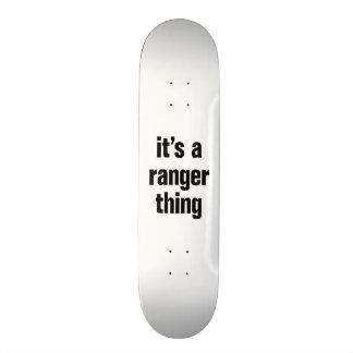 its a ranger thing custom skate board
