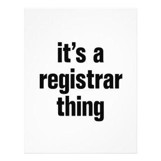 """its a registrar thing 8.5"""" x 11"""" flyer"""
