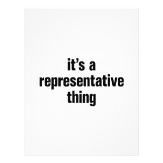 """its a representative thing 8.5"""" x 11"""" flyer"""