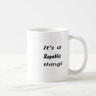 It's a Republic thing! Mug