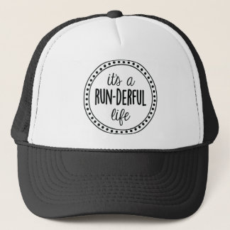 It's a Run-derful Life Logo Trucker Hat
