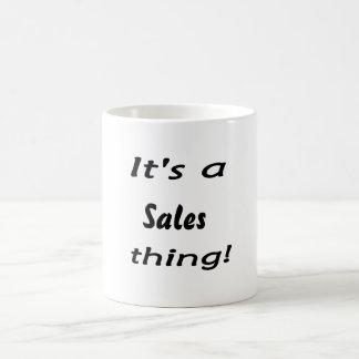 It's a sales thing! mugs