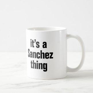its a sanchez thing basic white mug