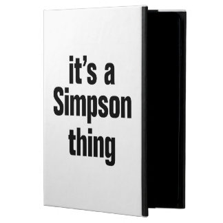 its a simpson thing iPad air cases