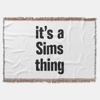 its a sims thing