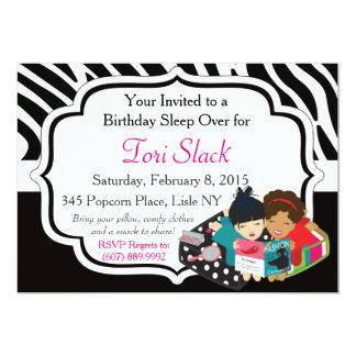 It's a Slumber Party! 13 Cm X 18 Cm Invitation Card