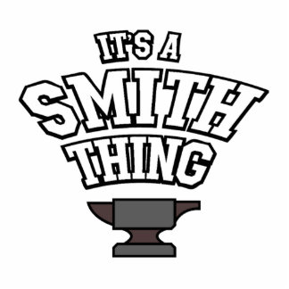 It's A Smith Thing Photo Sculpture Key Ring