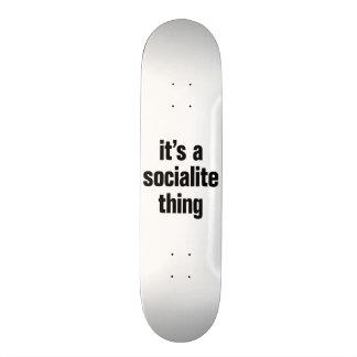 its a socialite thing custom skate board