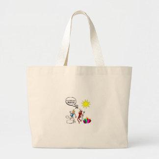 It's A Soupy Sales Heaven Jumbo Tote Bag