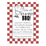 It's a Spicy BBQ! Post Card