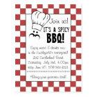 It's a Spicy BBQ! Postcard