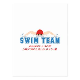 Its A Sport Postcard