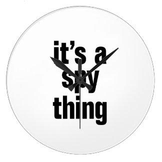its a spy thing clock